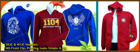 Customize Hoodies Samples with Printing