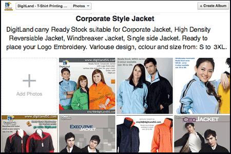 DigitLand Facebook page - Corporate Jacket Albrum