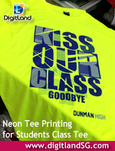 Neon Drifit Class Tee