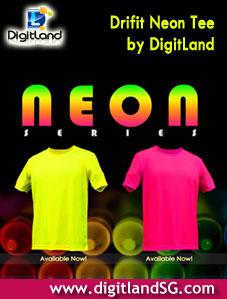 Neon Drifit Tee