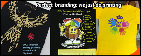 Full colour Logo printing