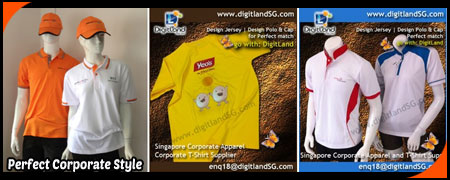 t shirt printing, t shirt supplier in Singapore, Corporate Apparel ...