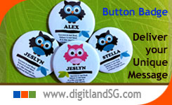 Personalise Button Badge