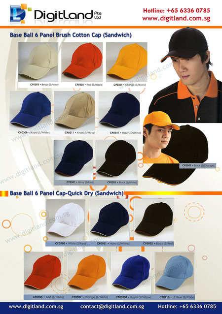 Ready Stock Catalogue - Sandwich Cap