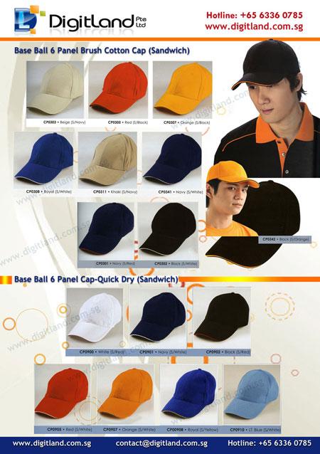 Ready Stock Catalogue - Sandwich Cap